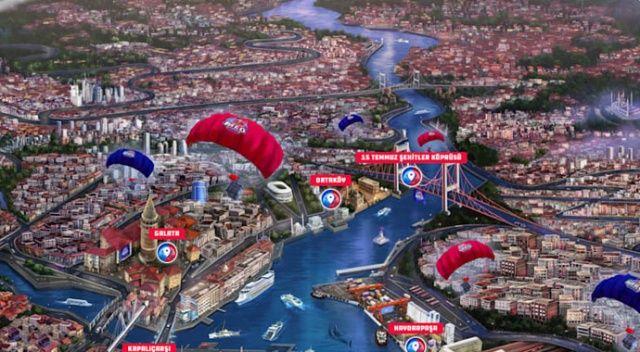100 bin kişi sanal  İstanbul turu yaptı