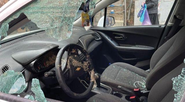 AA ekibi ve aracı Kudüs'te Ultra-Ortodoks Yahudilerin saldırısına uğradı