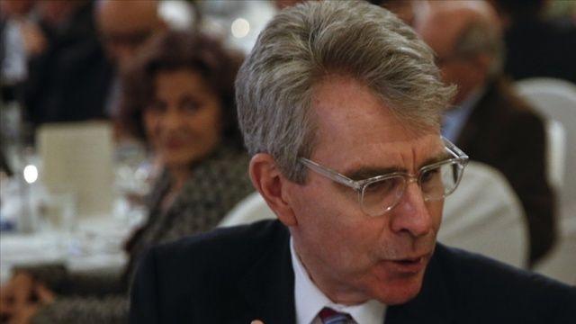 ABD'nin Atina Büyükelçisi Geoffrey Pyatt: Yunanistan'a, hazır olduğunda F-35 satmaya hazırız