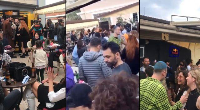 Antalya'da kademeli normalleşme sonrası korona partisi