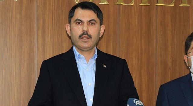Bakan Kurum: Depremi terörle mücadele kadar önemsiyoruz