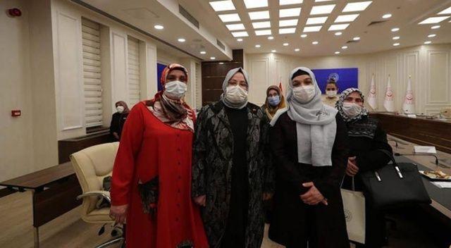 Bakan Selçuk 15 Temmuz gazisi kadınlarla buluştu