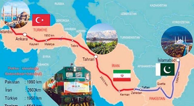 Bakü'den İslamabad'a demir ağ örüyoruz