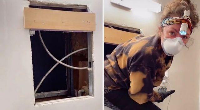 Banyodaki gizli pencereden evine açılan apartman dairesi buldu! Korku filmi Candyman gibi