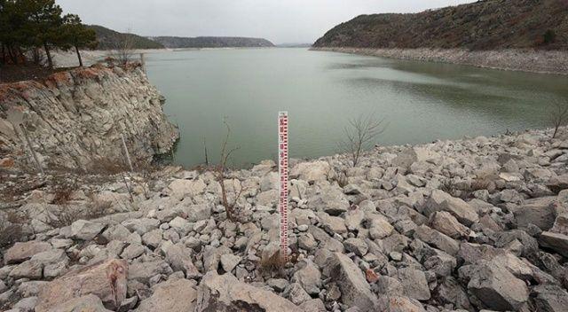 Barajlarda Ankara'ya 120 gün yetecek su bulunuyor