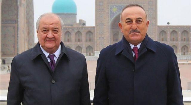 Çavuşoğlu: Özbekistan'ın reform sürecine desteğimiz devam edecek