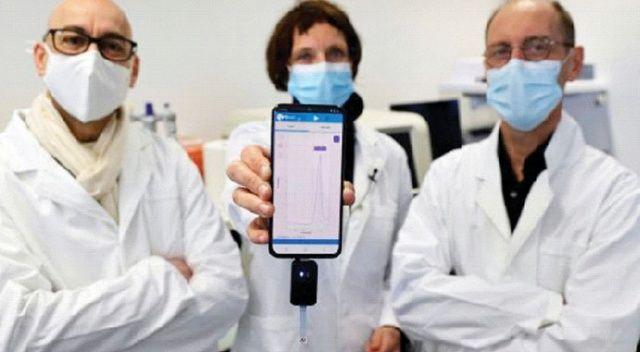 Cep telefonuyla koronavirüs testi