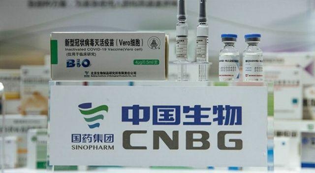 Çin'den Sinopharm aşısı taşıyan uçak Bağdat'a indi
