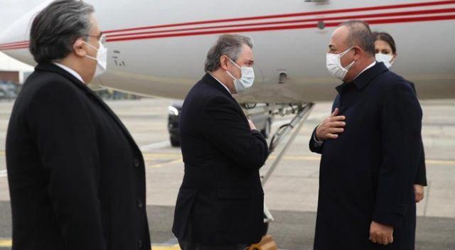 Dışişleri Bakanı Çavuşoğlu Brüksel'de