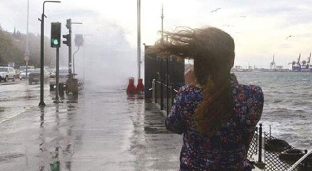 Doğu Akdeniz'de fırtınamsı rüzgar ve kuvvetli yağış bekleniyor