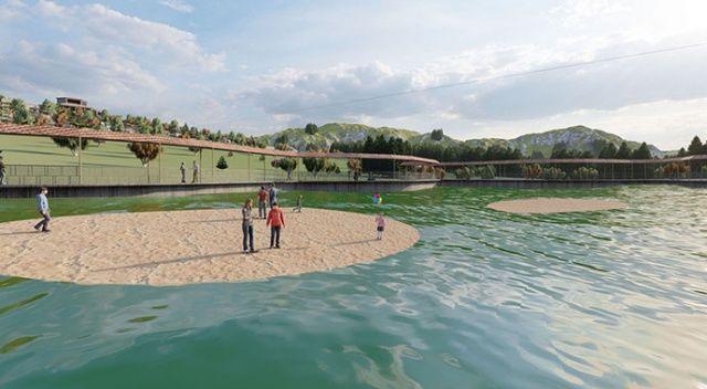 Erzurum'daki doğa harikası 'yüzen adalar' turizme kazandırılıyor