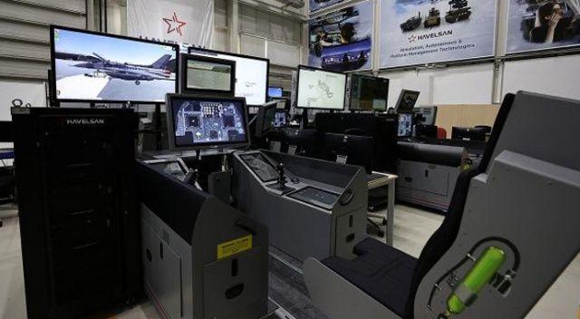 F16 için geliştirilen simülatörden ihracat fırsatı çıktı