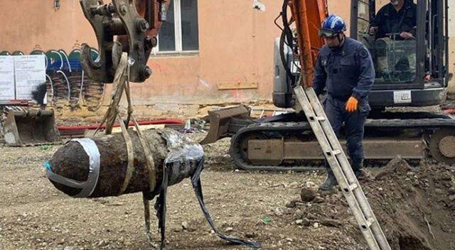 Fransa'nın Lyon şehrinde II. Dünya Savaşı'ndan kalma bomba bulundu