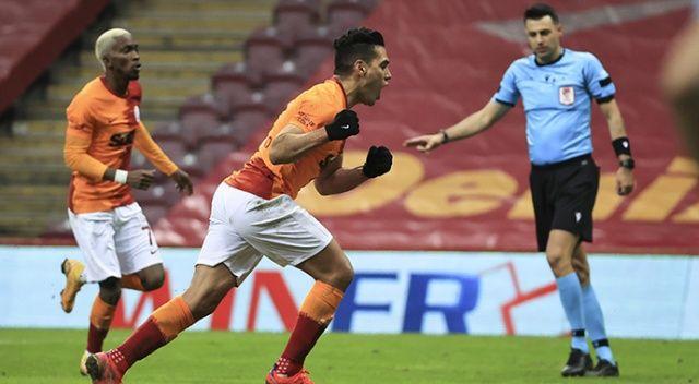 Galatasaray'da Falcao 2 golle döndü