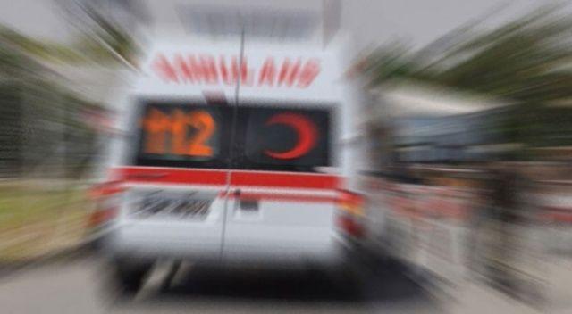Giresun'da otomobil üst geçidin ayağına çarptı: 1 ölü, 4 yaralı