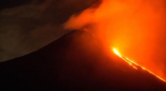 Guatemala'da Pacaya Yanardağı'nda patlama