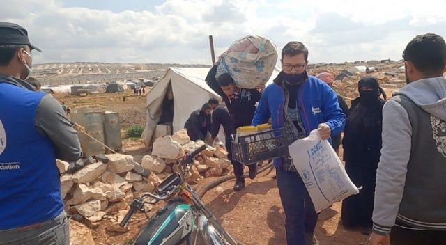 İdlib'de Savaş Mağduru Aileler, Briket Evlere Yerleşmeye Başladı
