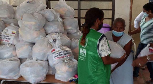 İHH'dan Kolombiya'daki kasırga mağdurlarına insani yardım