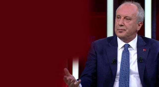 İnce: HDP aday çıkarsaydı yerel seçimleri alabiliyor muyduk?