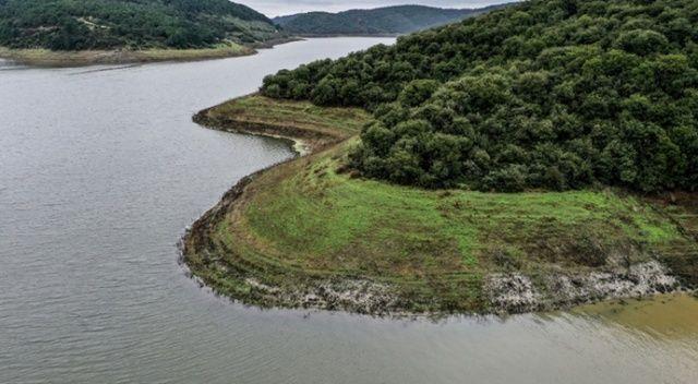 İstanbul'un barajlarındaki doluluk oranı yüzde 56,71'e yükseldi