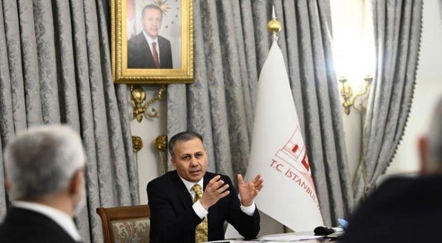 """İstanbul Valisi Yerlikaya duyurdu: """"Şehrimizin her yerinde denetimlere başlıyoruz"""""""