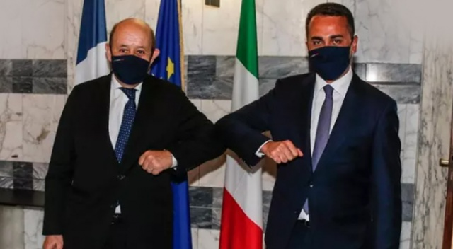 İtalya ve Fransa dışişleri bakanları Roma'da görüştü