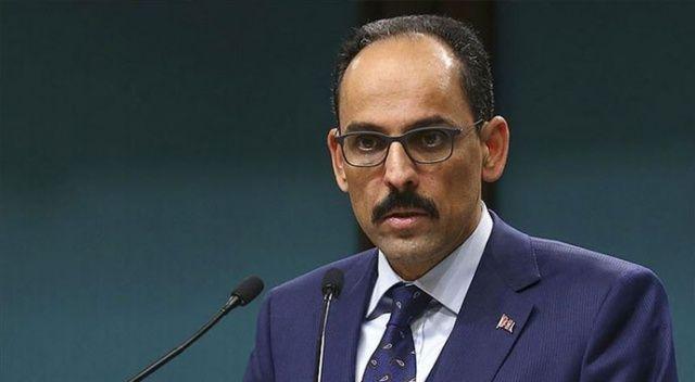 Cumhurbaşkanlığı Sözcüsü Kalın'dan S-400 açıklaması