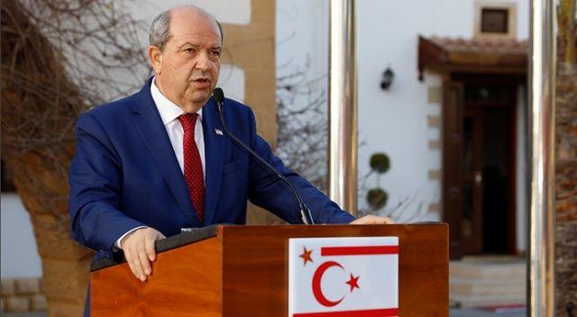 KKTC Cumhurbaşkanı Tatar: Türkiye, can istediğimizde can, kan istediğimizde kan, su istediğimizde su verdi