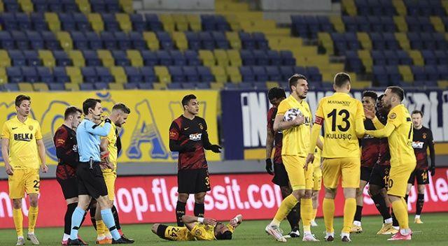 Lider Galatasaray, MKE Ankaragücü deplasmanında 2-1 kaybetti
