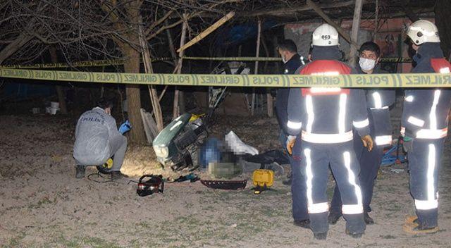 Malatya'da çapa makinesine kalçasını kaptıran kişi öldü