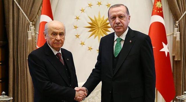 MHP Genel Başkanı Bahçeli'den Erdoğan'a tebrik telefonu