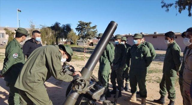 """Milli Savunma Bakanlığı, Libyalı askerlere """"havan eğitimi"""" verdi"""