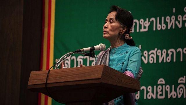 Myanmar'ın devrik lideri Suu Çii 'kamuyu endişeye sevk edecek açıklama yapmak veya söylenti yaymakla' suçlandı