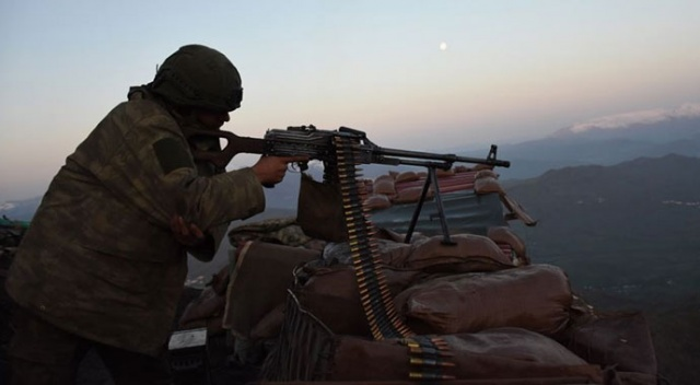PKK/YPG'li 5 terörist etkisiz hale getirildi