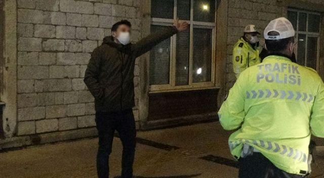 Polis uygulamasına takılan alkollü sürücü ortalığı birbirine kattı