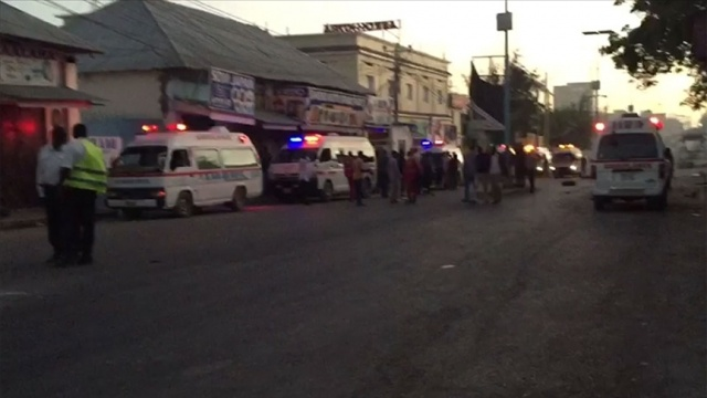Somali'nin başkenti Mogadişu'da büyük bir patlama sesi duyuldu