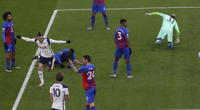 Tottenham, kendi sahasında Crystal Palace'a gol yağdırdı