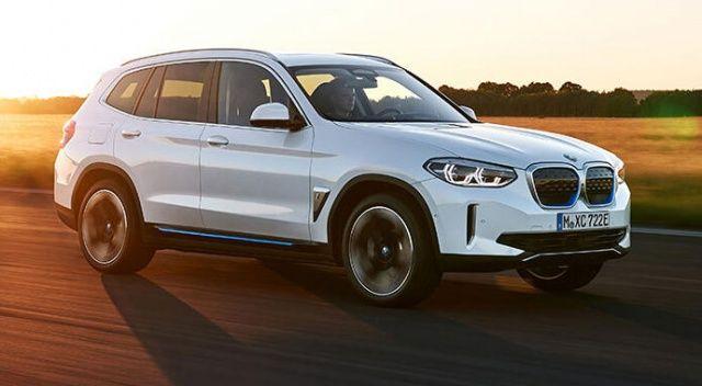 Yeni BMW iX3'den 10 dakikada 100 KM'lik şarj