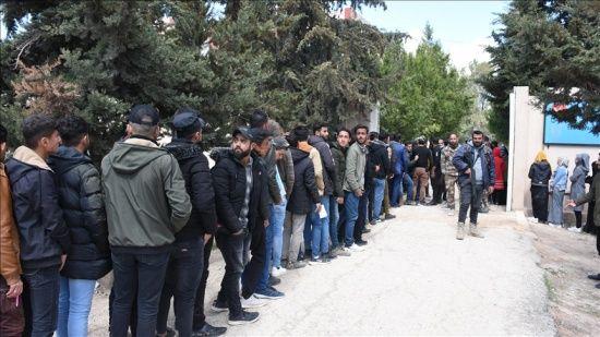 Barış Pınarı Harekatı bölgesinde 600'den fazla Suriyeli öğrenci YÖS'e katıldı
