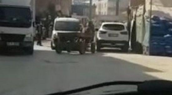 Başıboş at arabası karşı yönden gelen otomobille çarpıştı