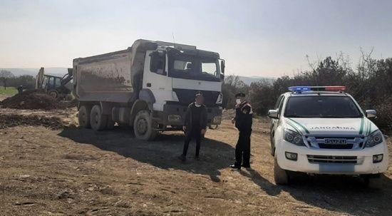 Bursa'da kaçak hafriyat döken firmaya 276.588 TL ceza