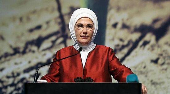 """Emine Erdoğan, """"Recycling Industry Dergisi""""ne """"Sıfır Atık Projesi""""ni anlattı"""