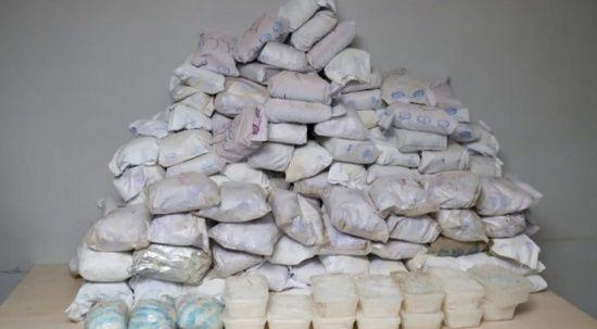 Hakkari'de 482 kilo eroin, 65 kilo metamfetamin ele geçirildi
