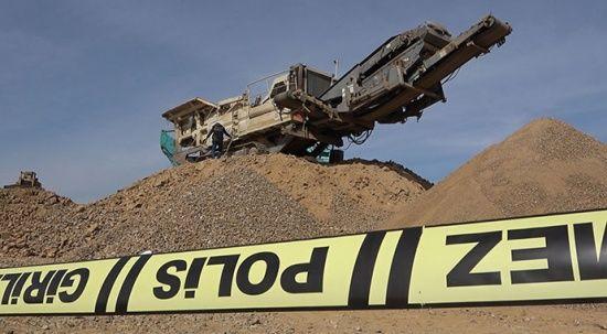Kırıkkale'de kahreden iş kazası: İzne ayrılacağı gün taş kırma makinesine düştü