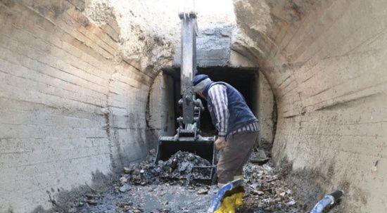 Sulama kanalındaki temizlik tamamlandı, 137 kamyon çöp çıktı