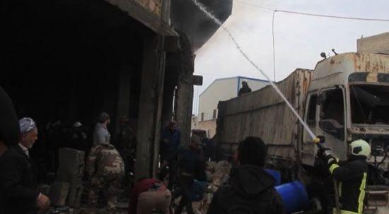 Suriye'nin kuzeyindeki Bab'da bombalı terör saldırısı: 1 ölü, 2 yaralı