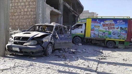 Terör örgütü YPG/PKK, Bab'daki sivillere saldırdı: 1 yaralı