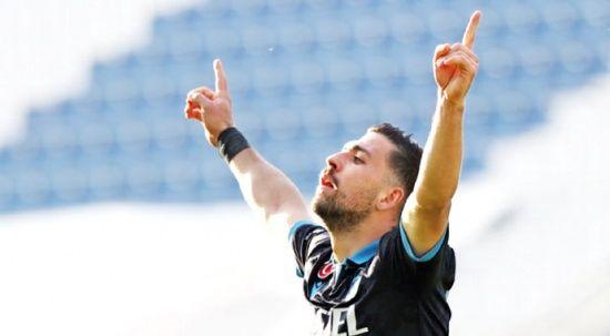 Trabzonspor, zirve ile aradaki farkı iki maça indirdi
