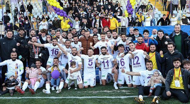 2. Lig Kırmızı Grup'ta şampiyon Eyüpspor oldu