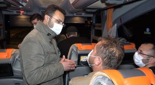 43 ilin geçiş güzergahında virüse geçit yok: Otobüs ve özel araçlar tek tek durduruldu